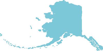 Alaska state graphic