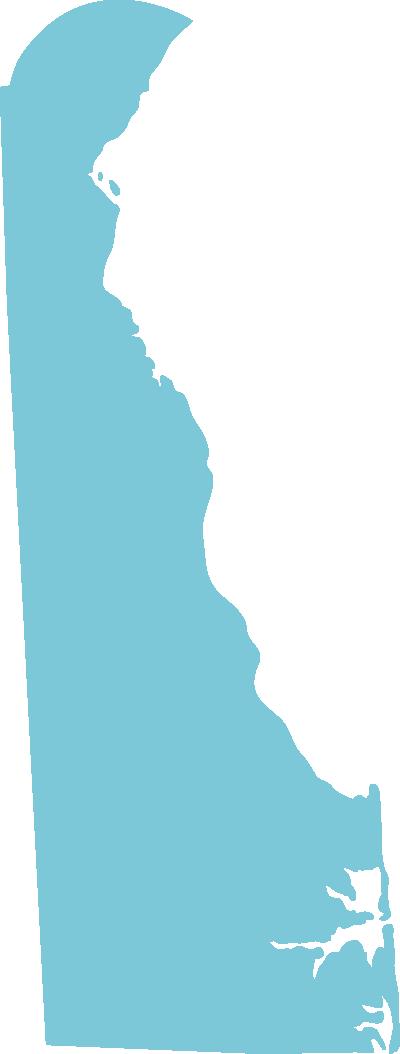 Delaware state graphic