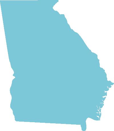 Georgia state graphic