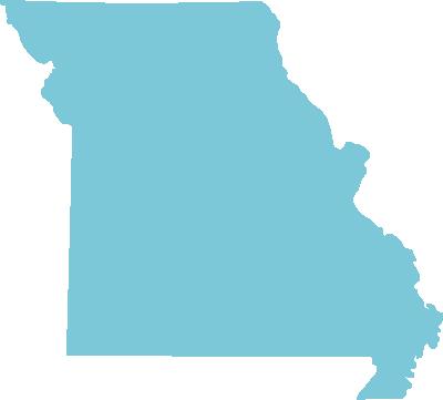 Missouri state graphic